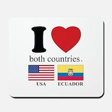 USA-ECUADOR Mousepad