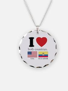 USA-ECUADOR Necklace