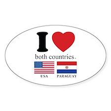 USA-PARAGUAY Decal