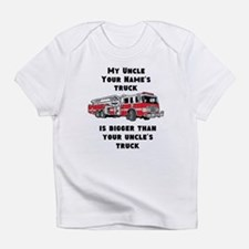 My Uncles Truck Is Bigger (Custom) Infant T-Shirt