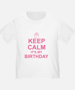 Keep Calm Birthday T