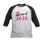 Class of 2030 (Owl) Kids Baseball Jersey