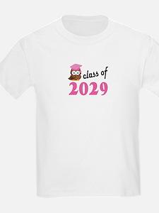 Class of 2029 (Owl) T-Shirt