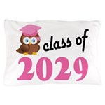 Class of 2029 (Owl) Pillow Case