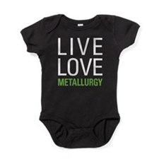 Live Love Metallurgy Baby Bodysuit
