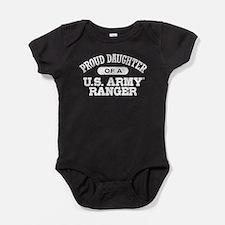 Army Ranger Daughter Baby Bodysuit