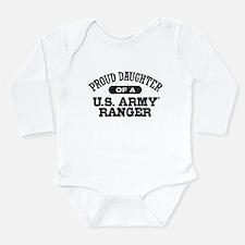 Army Ranger Daughter Long Sleeve Infant Bodysuit