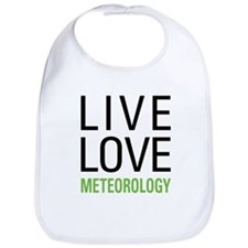 Live Love Meteorology Bib