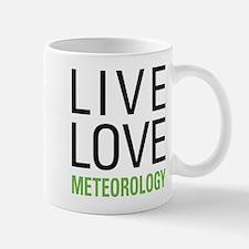 Live Love Meteorology Mug