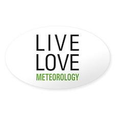 Live Love Meteorology Decal