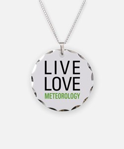 Live Love Meteorology Necklace