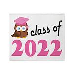 Class of 2022 (Owl) Throw Blanket