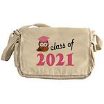 Class of 2021 (Owl) Messenger Bag