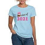 Class of 2021 (Owl) Women's Light T-Shirt