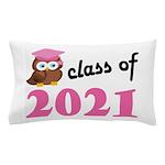 Class of 2021 (Owl) Pillow Case