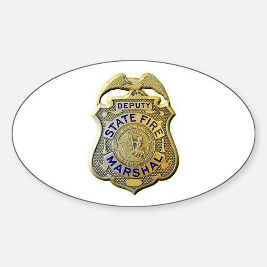 California Fire Marshal Decal