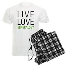 Live Love Mineralogy Pajamas