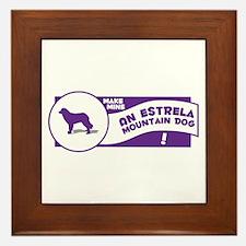Make Mine Estrela Framed Tile