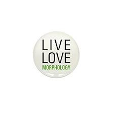 Live Love Morphology Mini Button (10 pack)