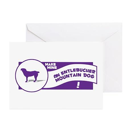 Make Mine Entlebucher Greeting Cards (Pk of 10