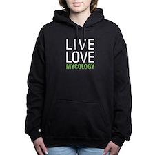 Live Love Mycology Women's Hooded Sweatshirt