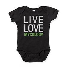 Live Love Mycology Baby Bodysuit
