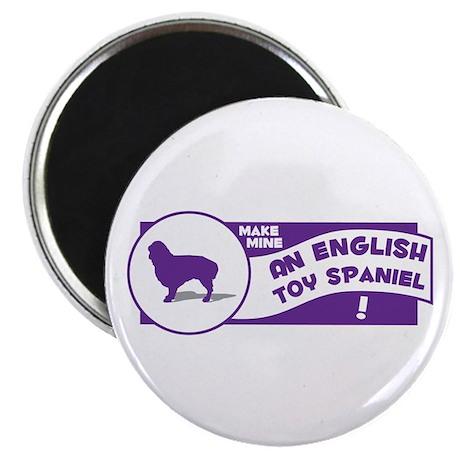 """Make Mine Spaniel 2.25"""" Magnet (10 pack)"""