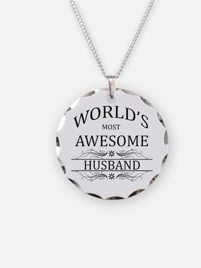 World's Most Amazing Husband Necklace
