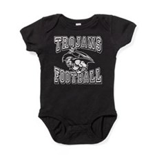 Trojans Football Baby Bodysuit
