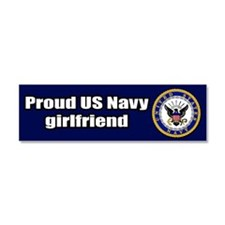 Cute Navy Car Magnet 10 x 3