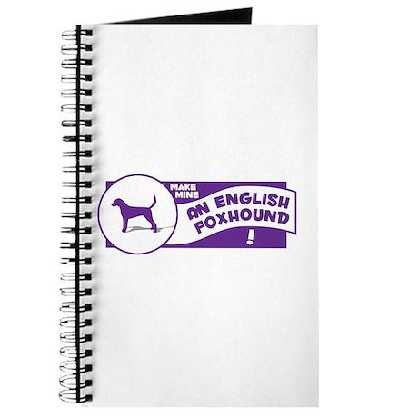 Make Mine Foxhound Journal
