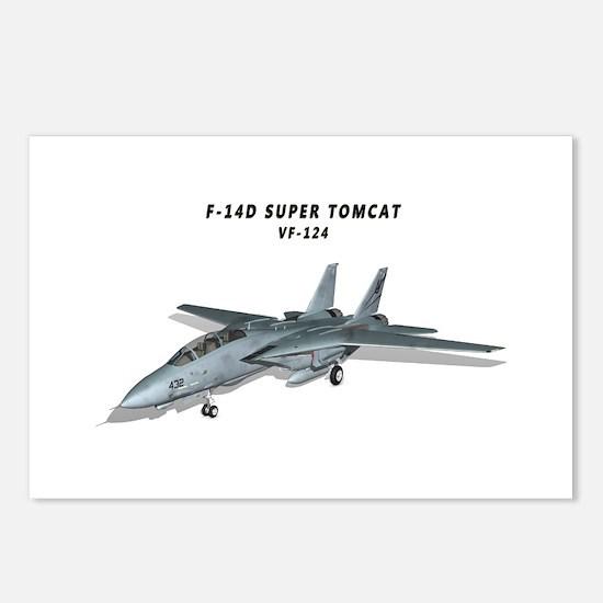 F-14D Super Tomcat VF-124 Postcards (Package of 8)