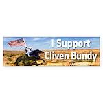 I Support Cliven Bundy Bumper Sticker