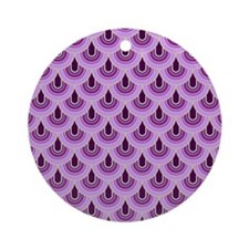 Retro Style 2 Ornament (Round)