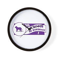 Make Mine Dogue Wall Clock