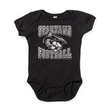 Spartans Football Baby Bodysuit