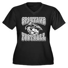 Spartans Football Plus Size T-Shirt