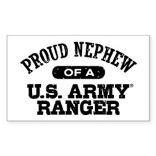 Army Ranger Nephew Decal