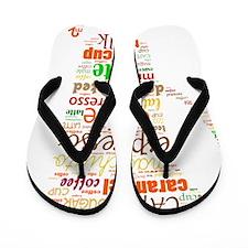 Coffee Flip Flops
