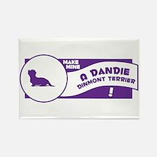 Make Mine Dandie Rectangle Magnet (100 pack)