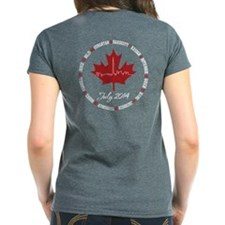 Womens T-Shirt (with Names On Back)