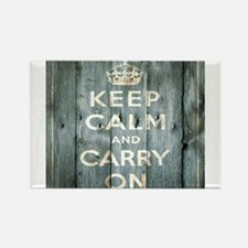modern keep calm and carry on fashion Magnets