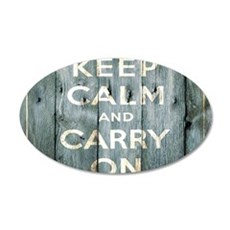 modern keep calm and carry on fashion Decal Wall S