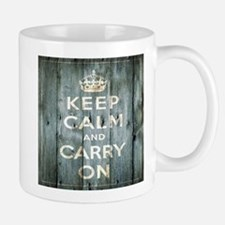 modern keep calm and carry on fashion Mugs