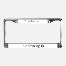 Irish Dance License Plate Frame