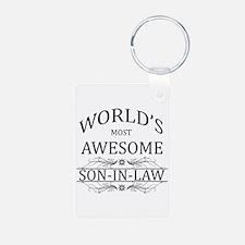 World's Most Amazing Son-I Keychains
