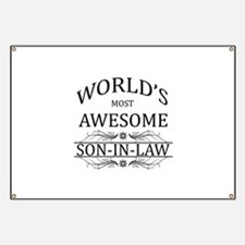World's Most Amazing Son-In-Law Banner