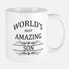 World's Most Amazing Son Small Small Mug