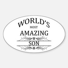 World's Most Amazing Son Decal