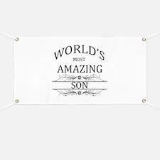 World's Most Amazing Son Banner
